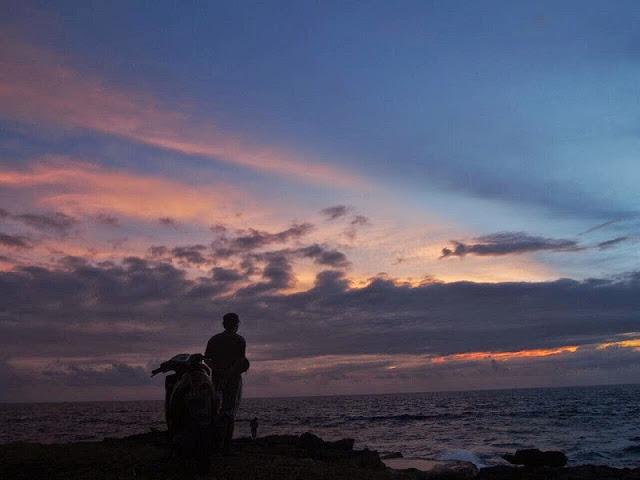 バリ島、レンボンガン島雨季の天気