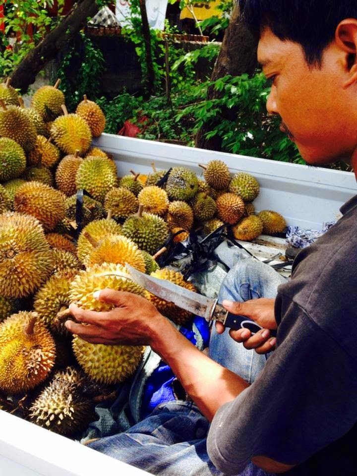 バリ島フルーツの王様ドリアン