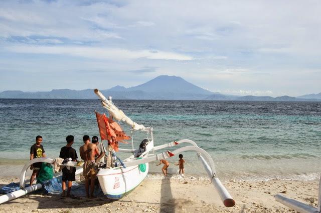 バリ島の離島、ペニダ島