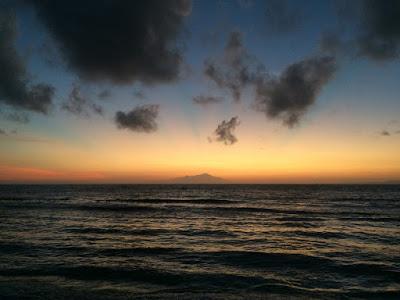 バリ島のサンライズ動画