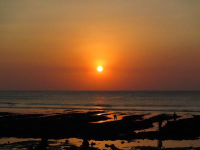 バリ島ウルワトゥのサンセット
