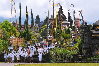 バリ島総本山ブサキ寺院