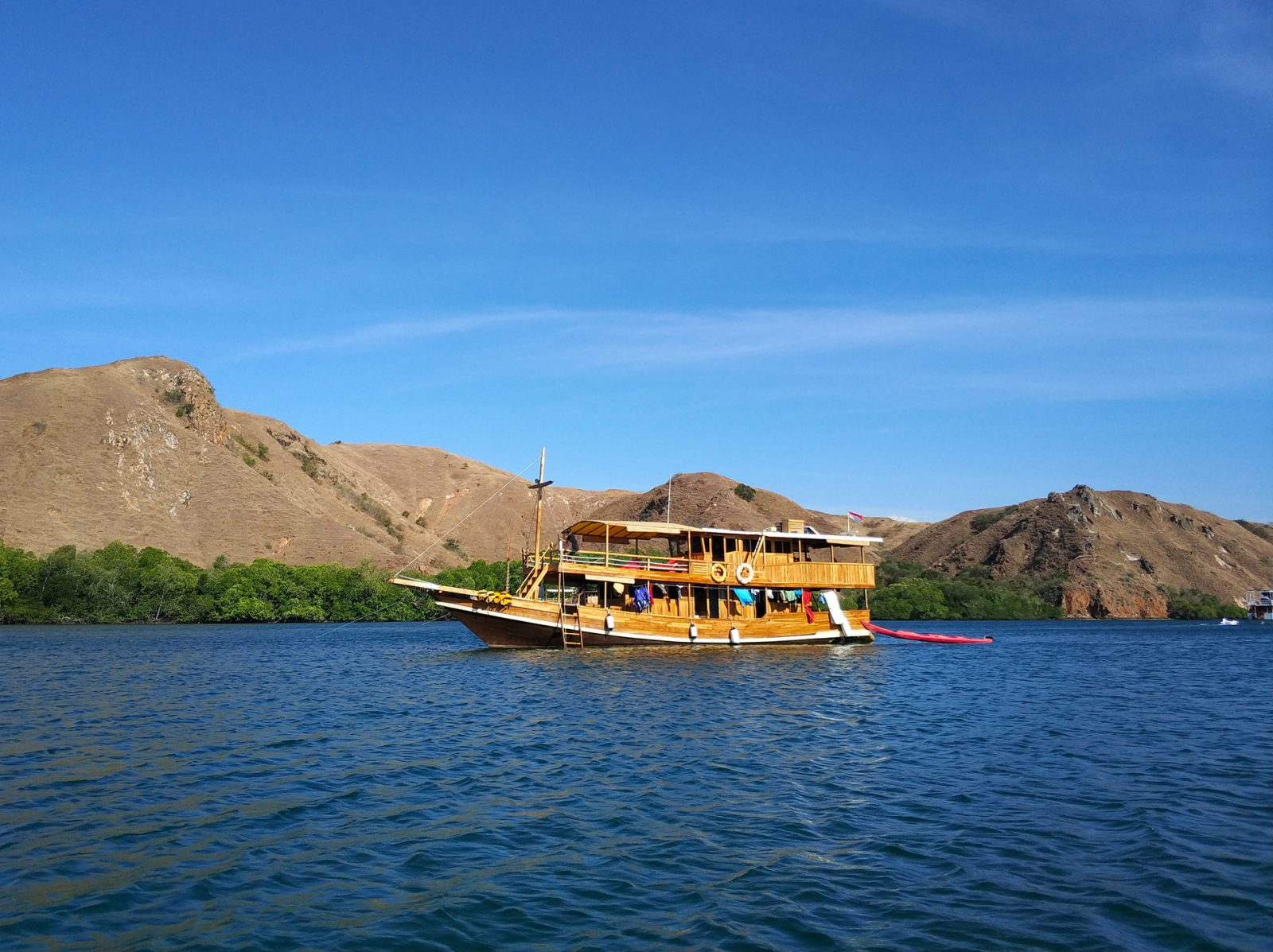 木造船で島巡り