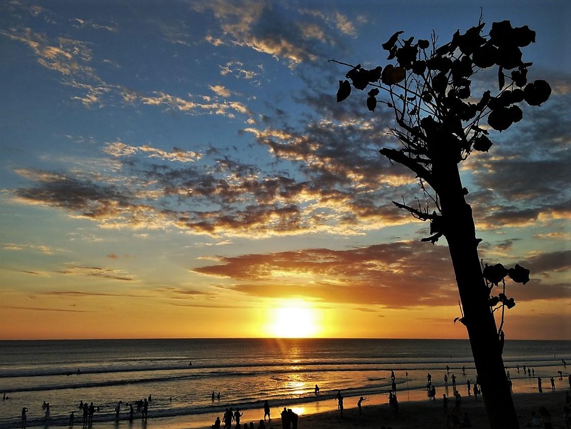 【2019年:バリ島】一目でわかる夕日・サンセットのベストタイム早見表