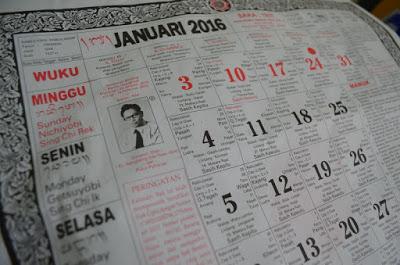 バリ島のカレンダー占い
