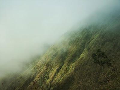 バリ島のアバン山