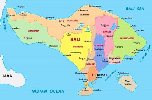 【2016年】バリ州1都8県の最低賃金(月収)と観光業の雇用形態
