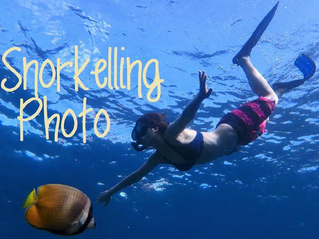 バリ島&レンボンガン島シュノーケリングツアーの写真撮影サービス
