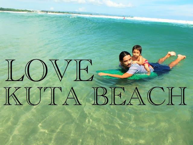バリ島の休日、家族で遊べるクタビーチが大好きです!!