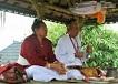 バリ島のランプヤン寺院、瞑想トレッキング