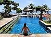 バリ島チャンディダサのホテルとライステラス