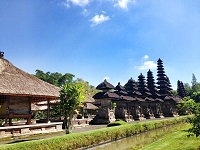 バリ島の世界遺産、タマンアユン寺院