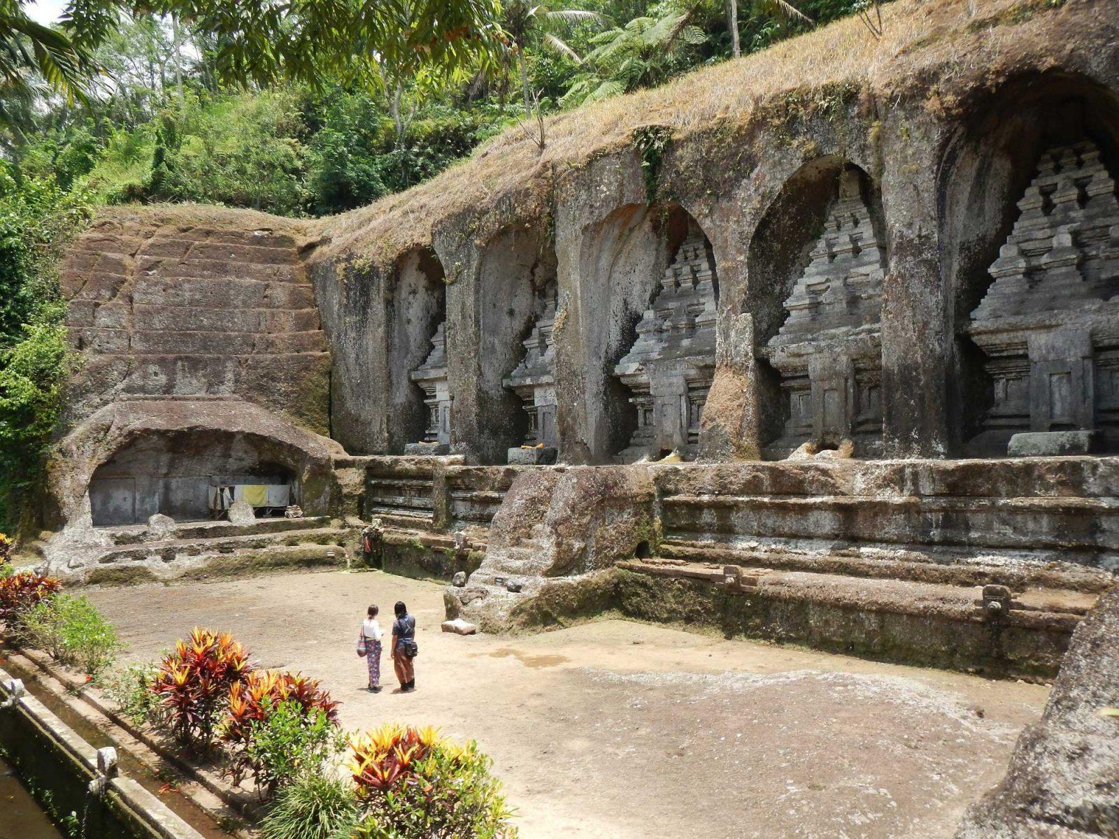 バリ島の世界遺産、グヌンカウイ・ティルタエンプル寺院