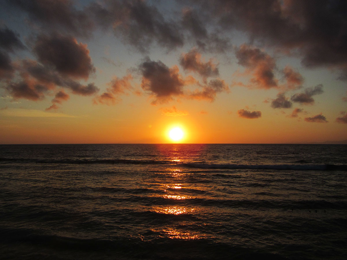ペニダ島のサンライズ