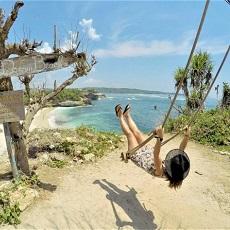 バリ島発レンボンガン島内観光ドリームビーチ&シュノーケリングツアー