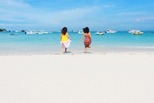 バリ島,レンボンガン島,綺麗なビーチ