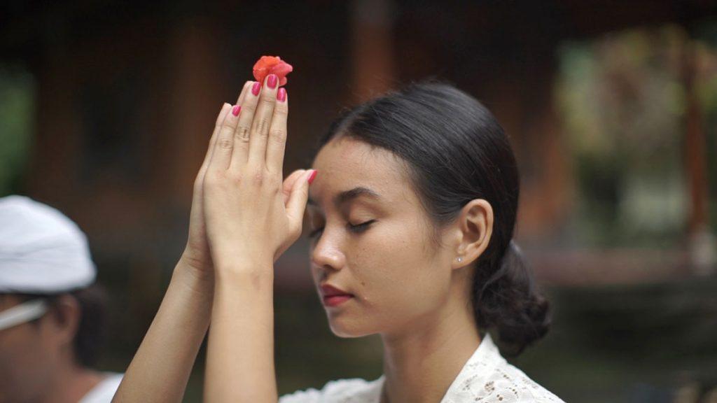 バリ式お祈り