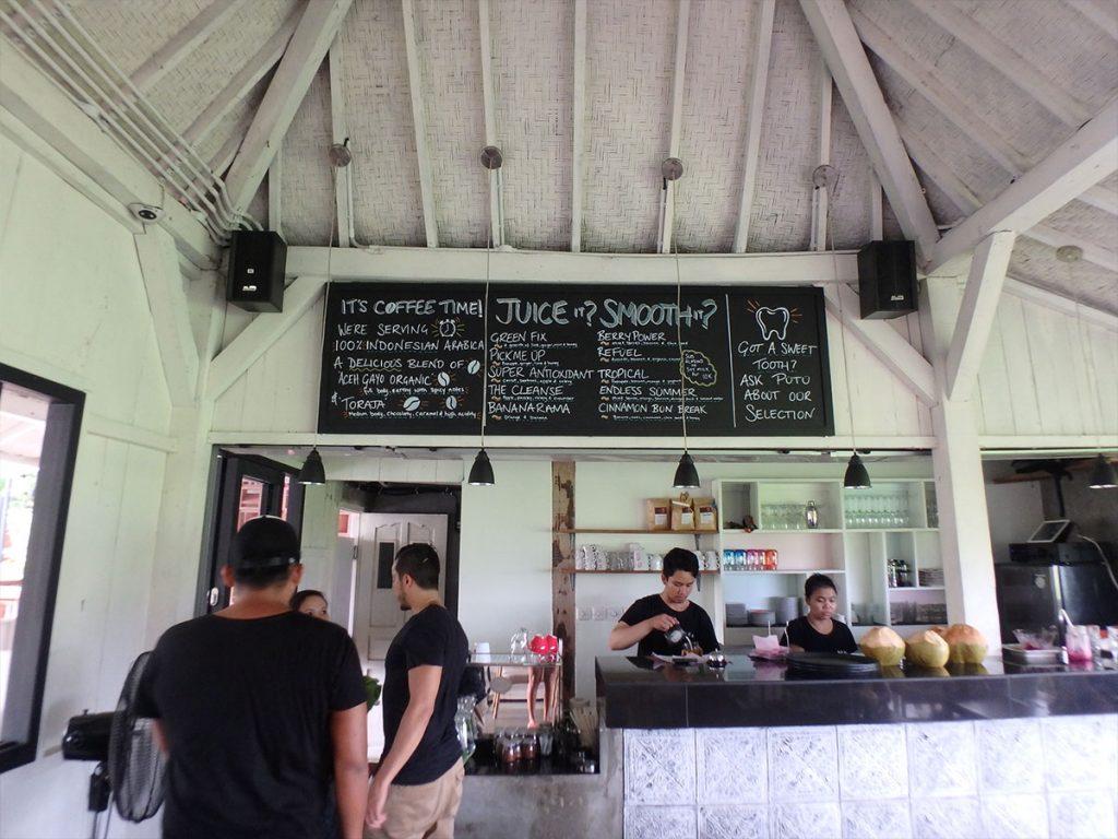 バリ島チャングーのカフェ