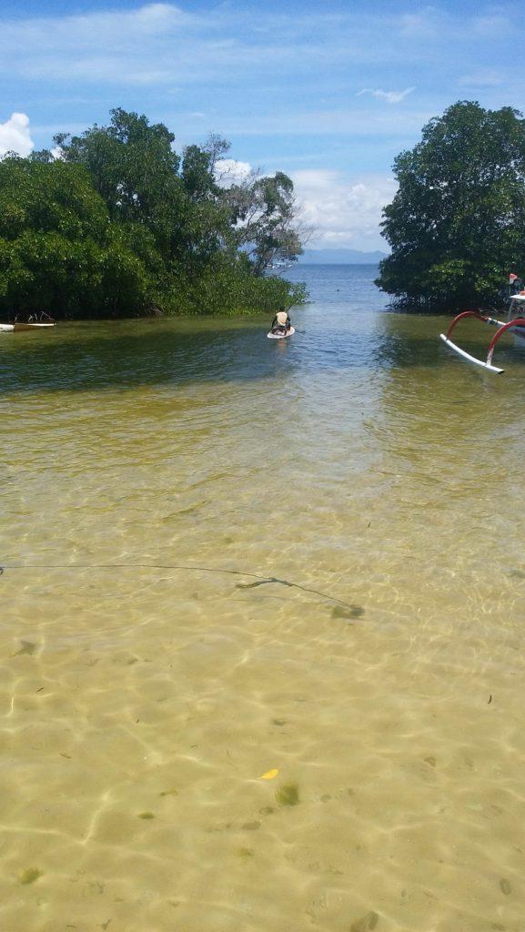 レンボンガン島ツアーのお客様写真