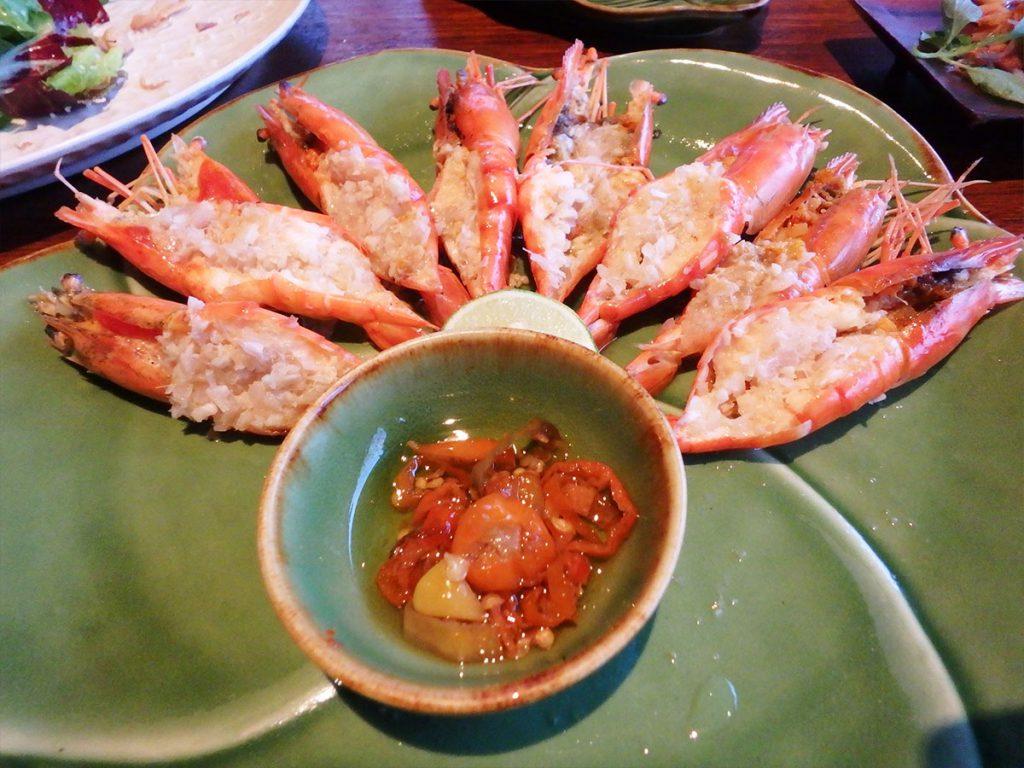 バリ島スミニャックのレストラン