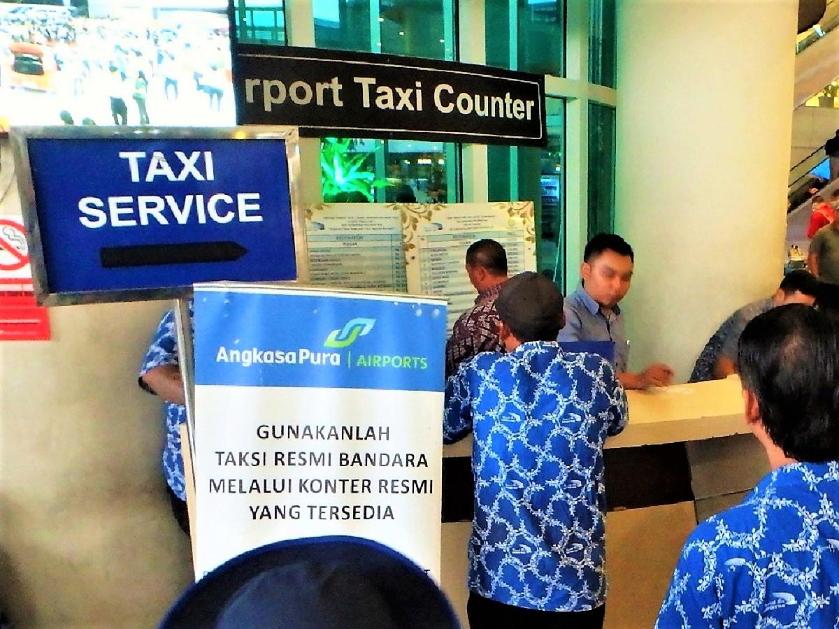 バリ島空港タクシー料金表とトラブル