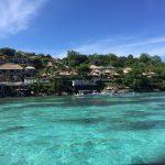 レンボンガン島パドルツアーのお客様写真