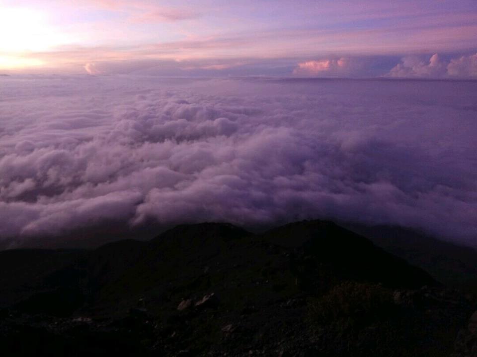クリンチ山の雲海