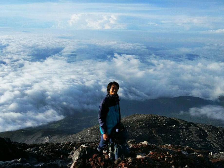 クリンチ登山
