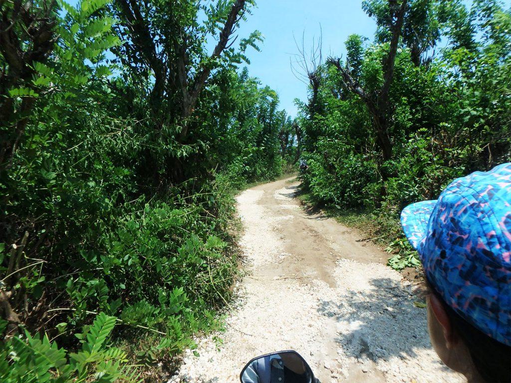 ペニダ島バイク