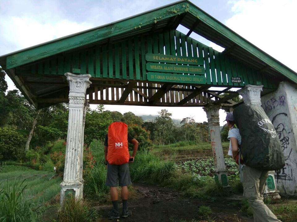 登山の入り口