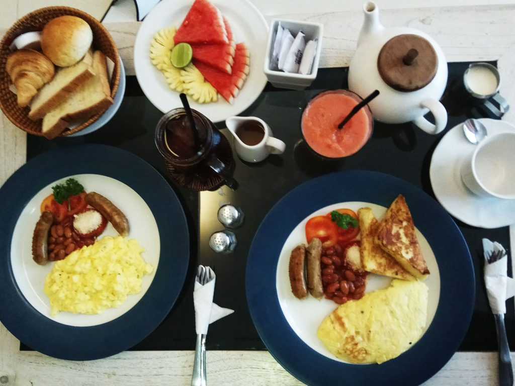 カキアンの朝食