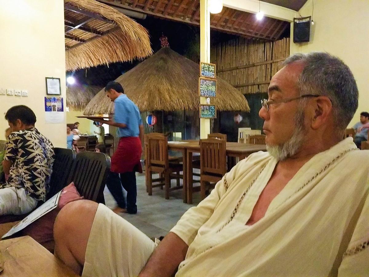 バリ島ご年配、高齢者のツアー