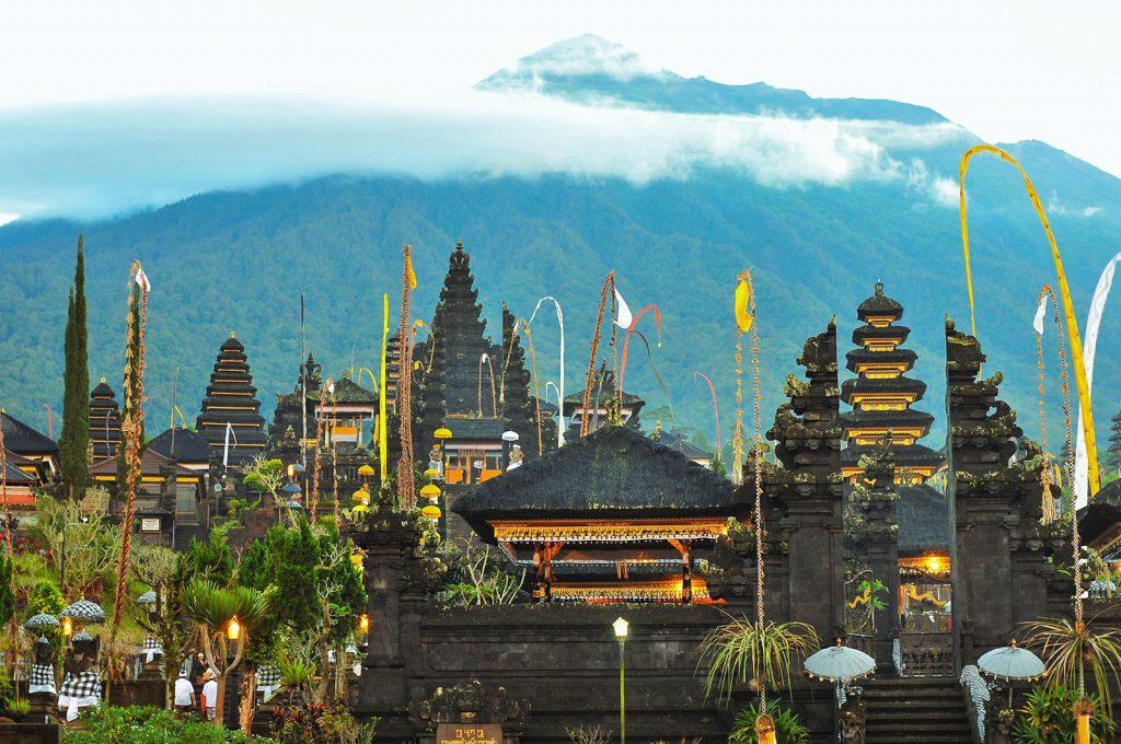 アグン山麓の寺院、ブサキ寺院
