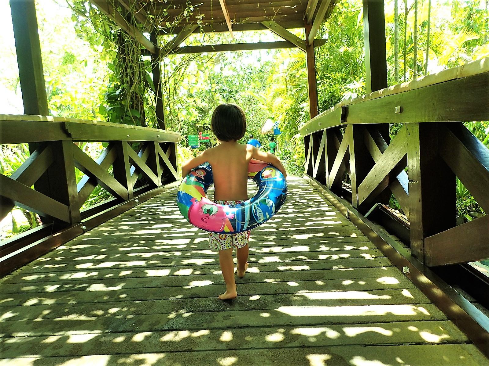 バリ島情報、家族で行ったウォーターボムの体験記