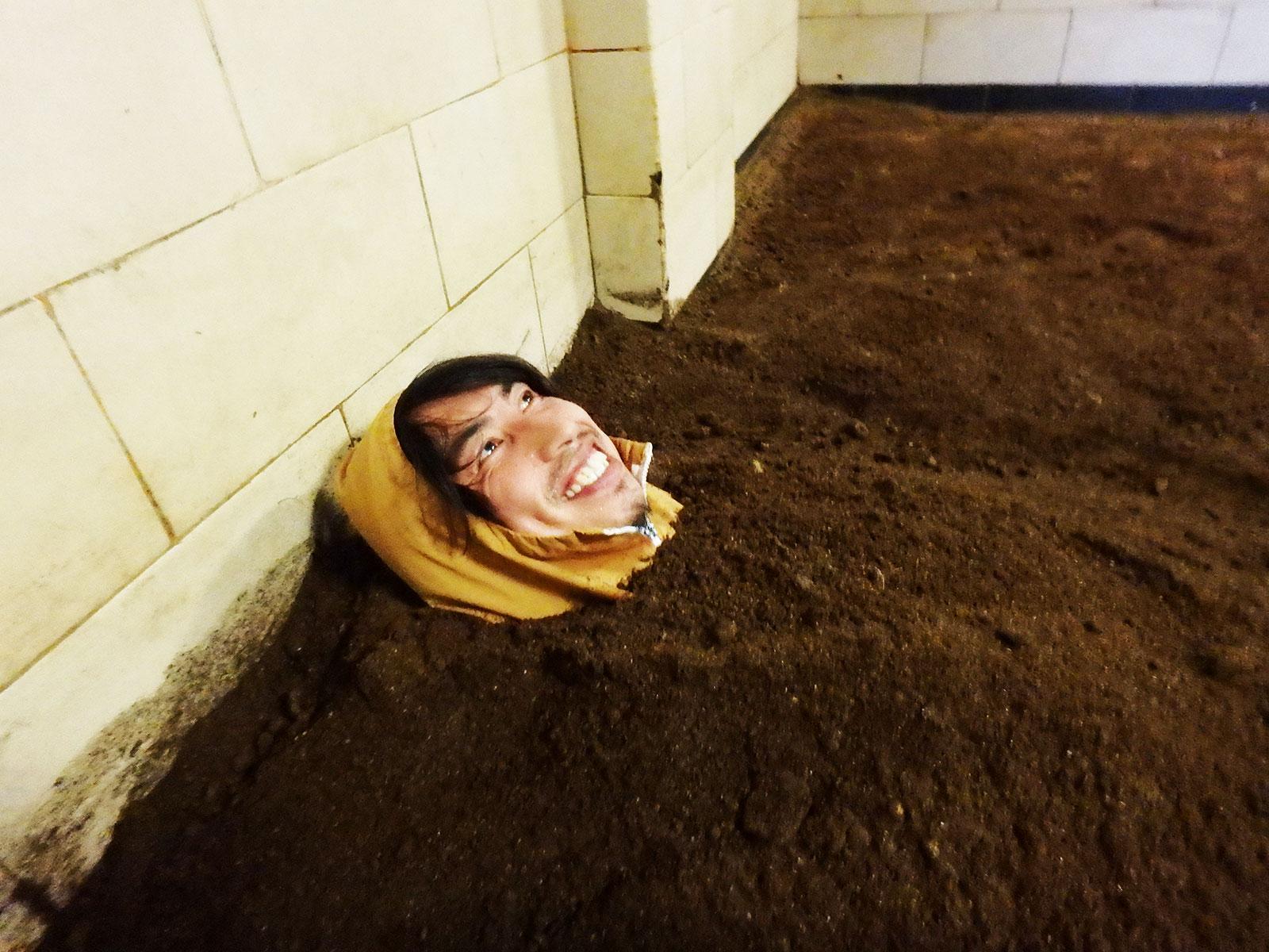 ボカシに埋まる