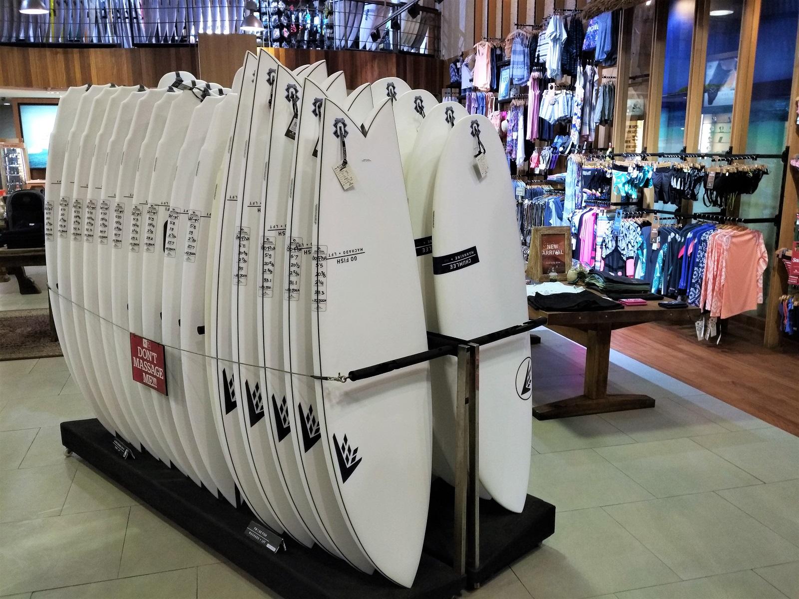 バリ島ファイヤーワイヤーサーフボードの価格