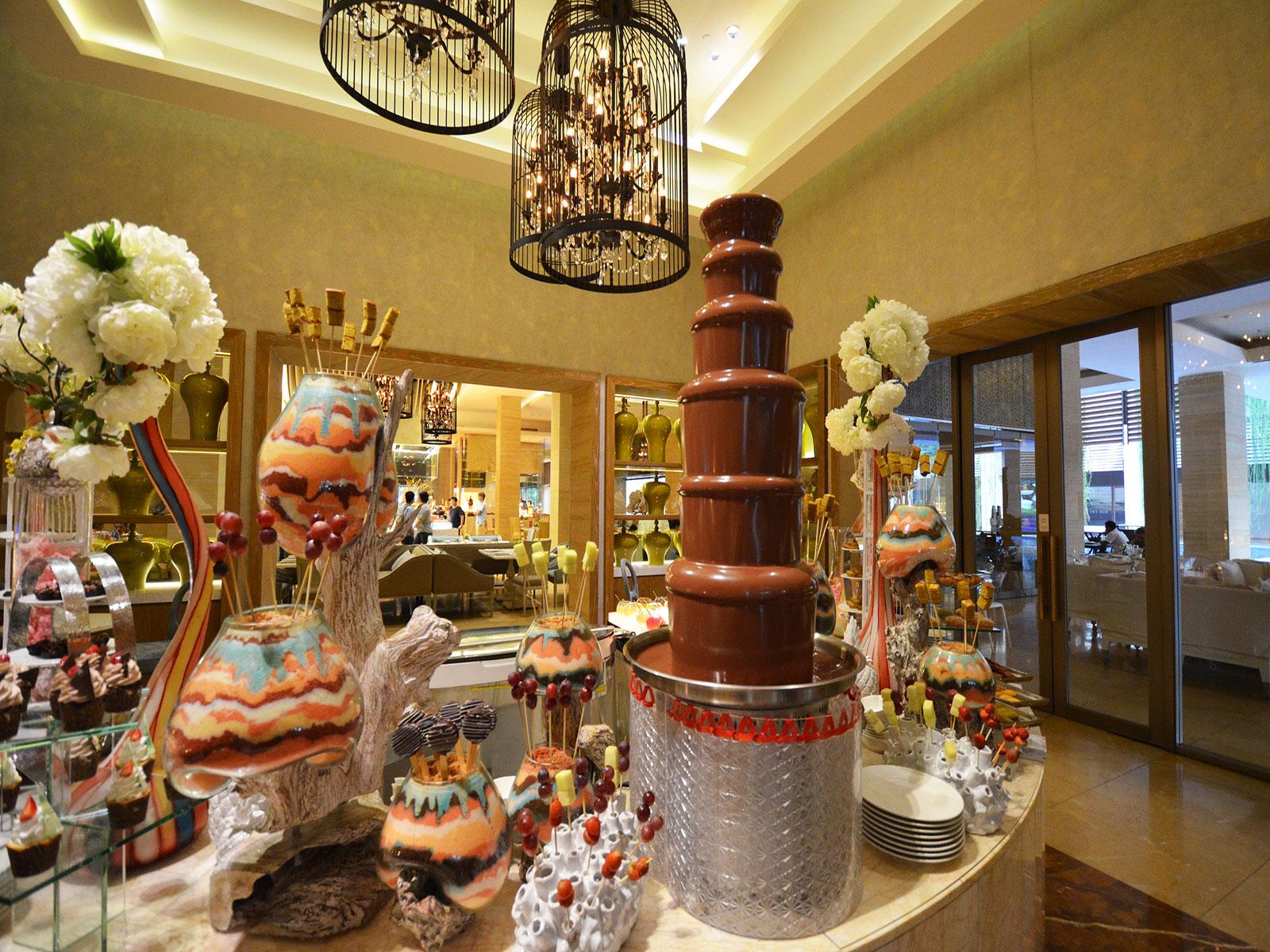 ムリアリゾート,チョコレートフォンデュ