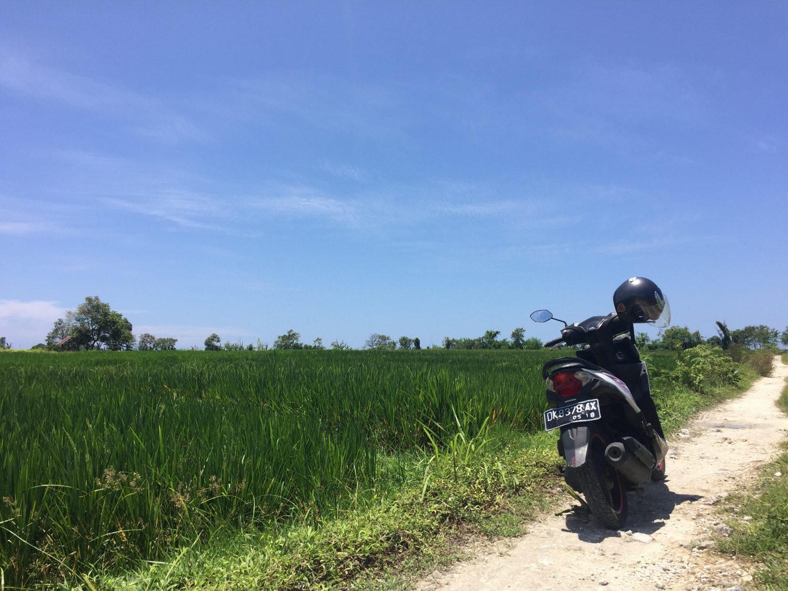 バリ島・バイク生活