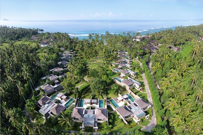 02 - Aerial Shoot (Ocean View Pool Villas & Gardens)