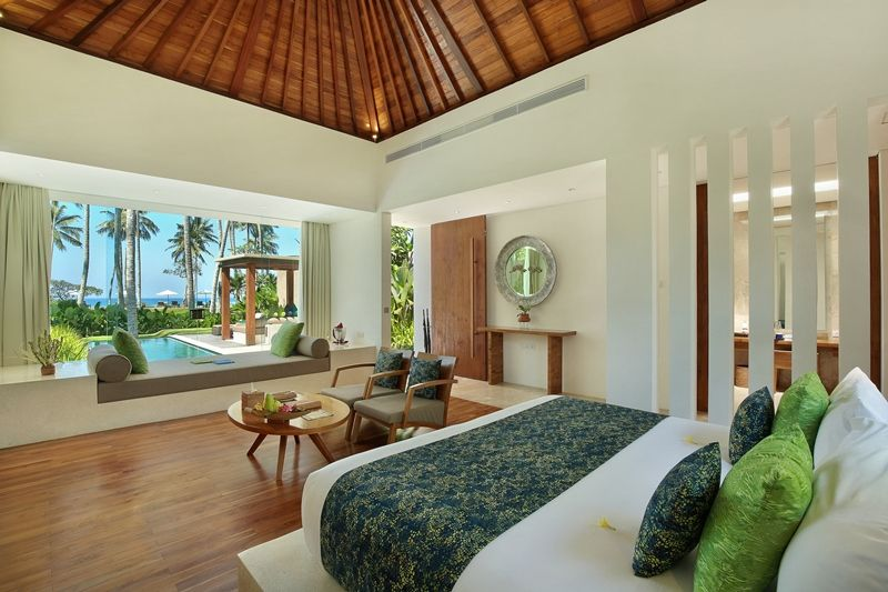 26 - Luxury Ocean View Pool Villa - Bed Room