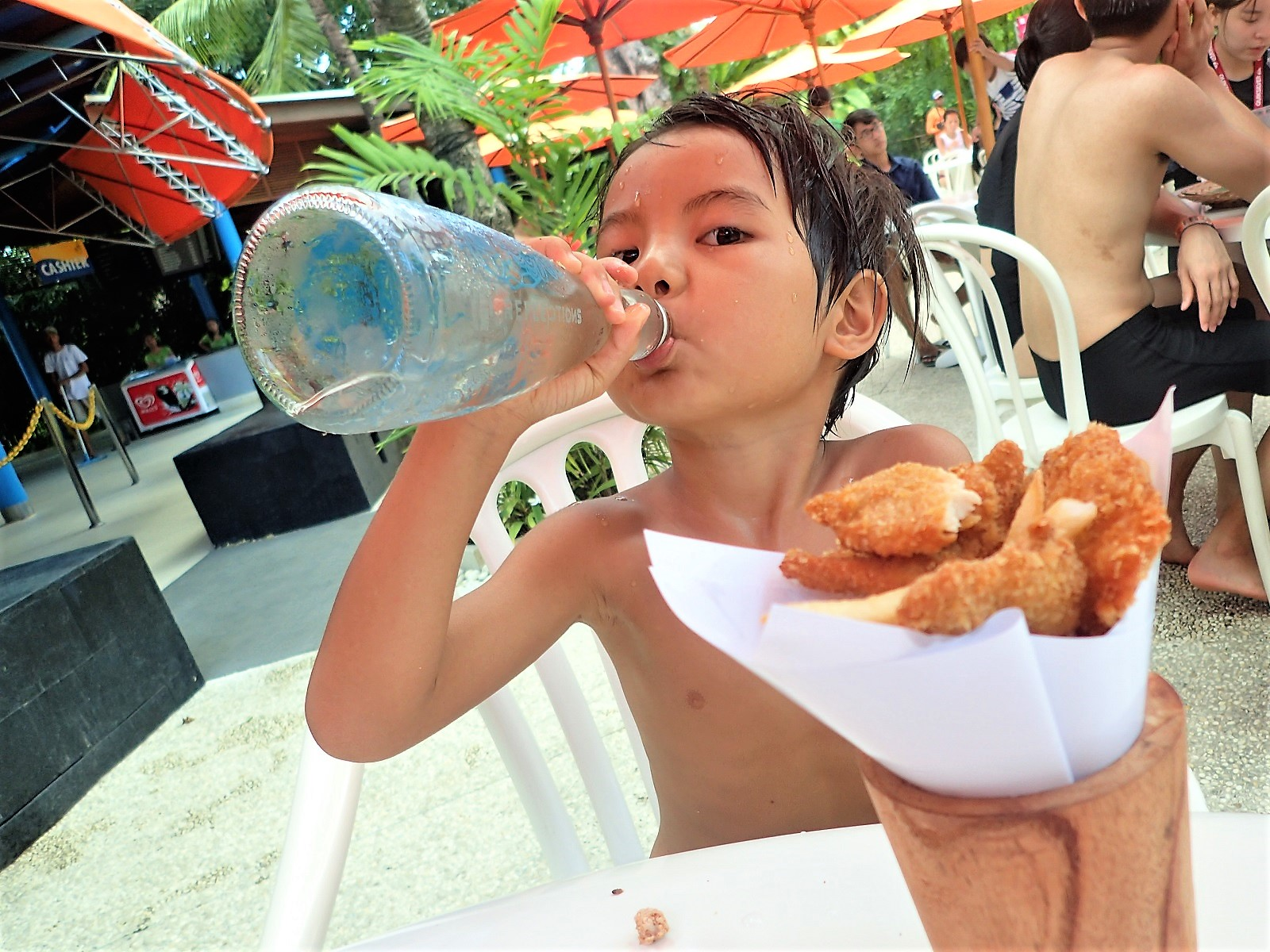 バリ島・レンボンガン島シュノーケリング子供の年齢