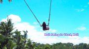 インスタ映えだけではない!ウブドの新名所~Bali Swing~