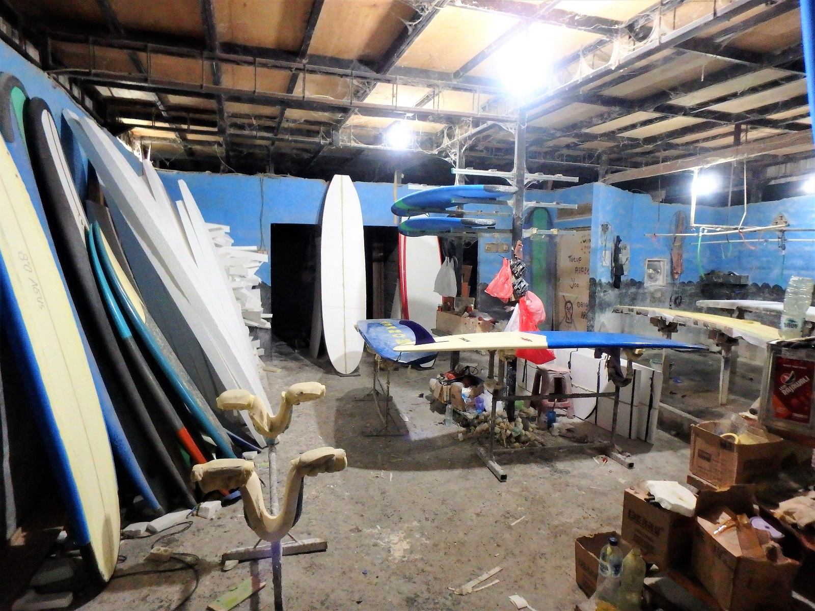 バリ島サーフボードのオーダーメイド