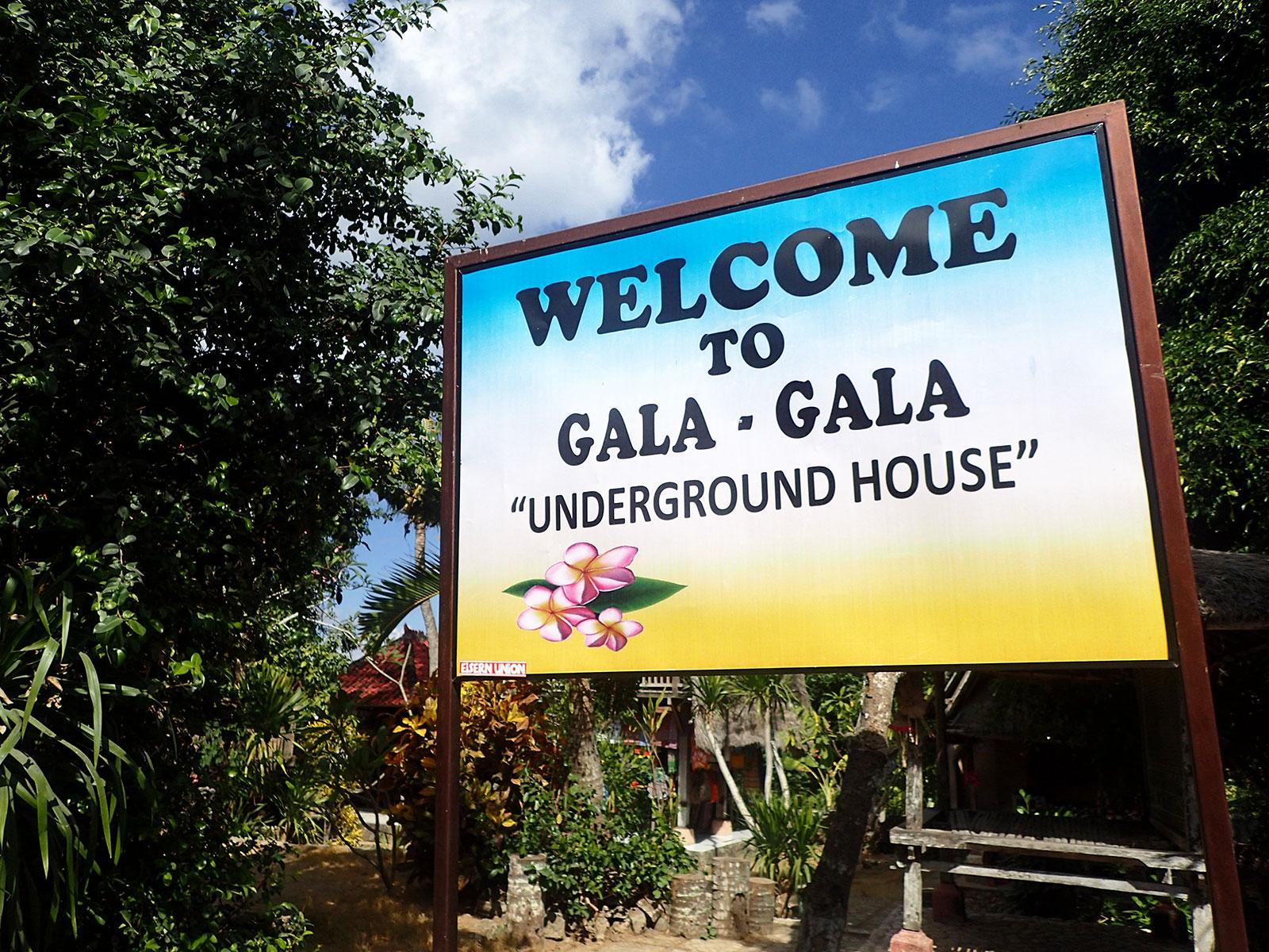 洞窟の家,レンボンガン島