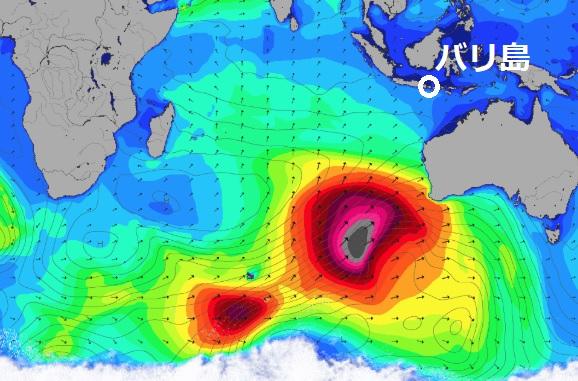 【バリ島情報】7月24日・25日の高波注意報と天気