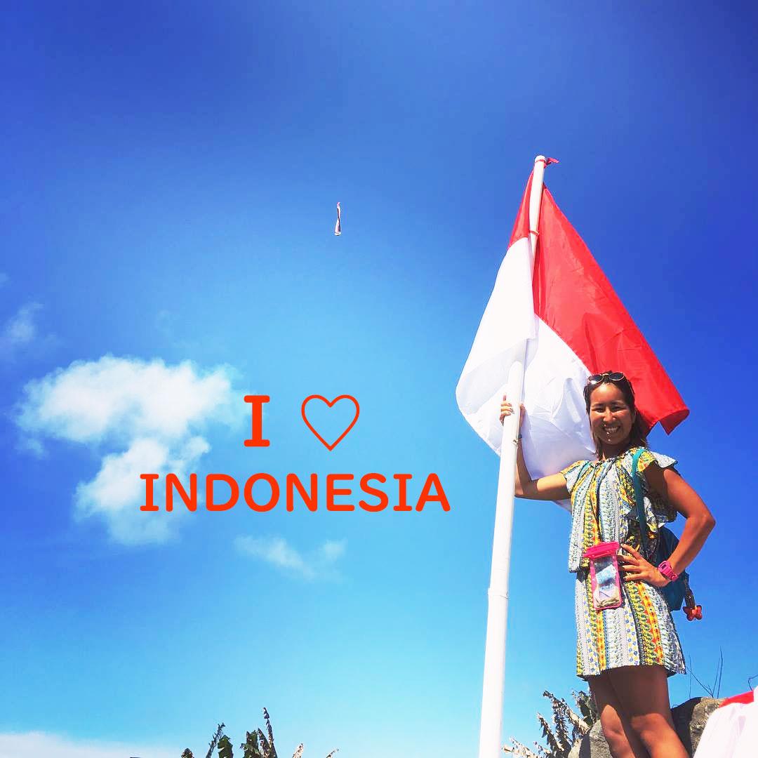 インドネシア 国旗