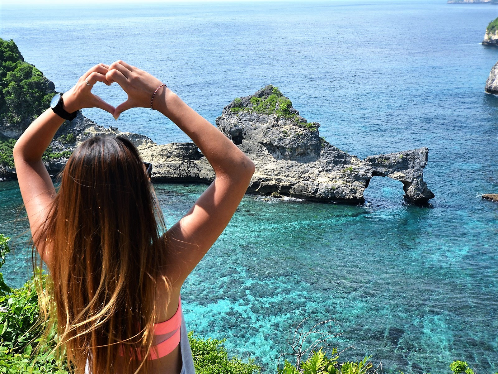 ペニダ島内観光シュノーケリングツアー
