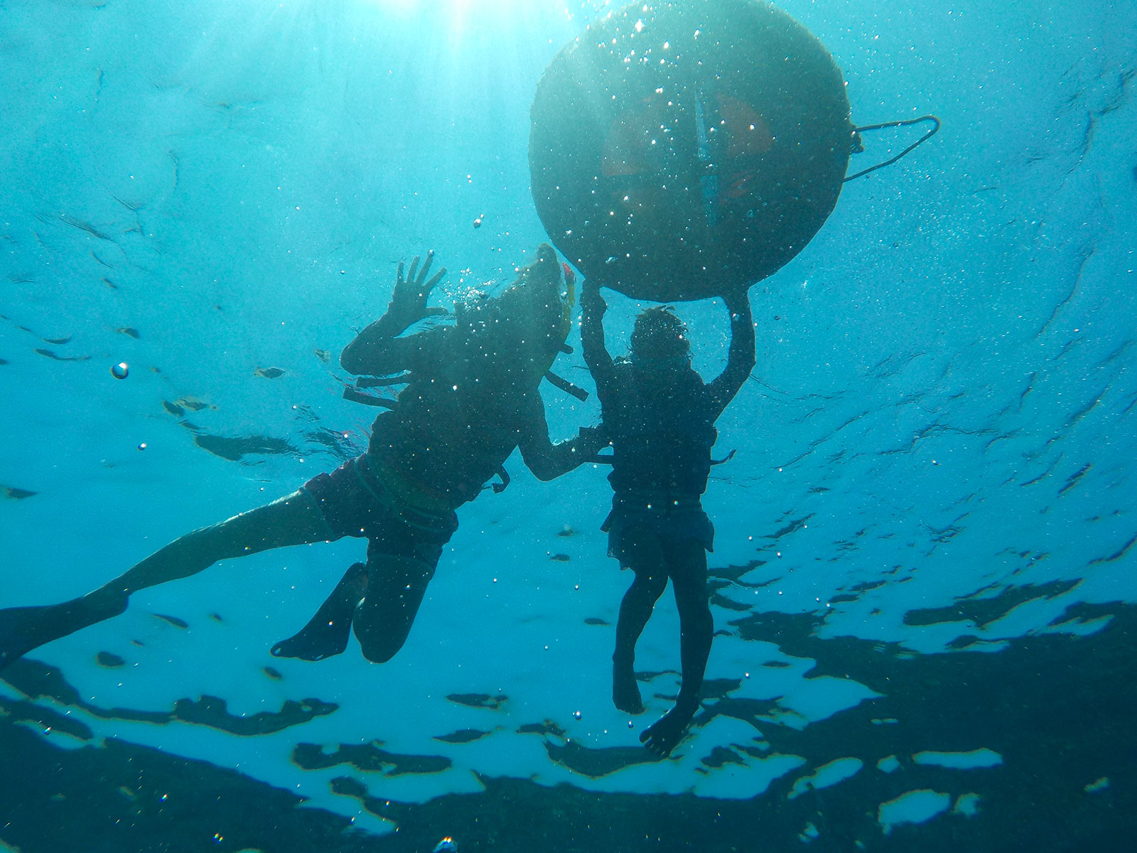 snorkeling-with-float