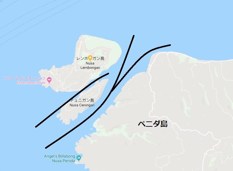 レンボンガン島&ペニダ島シュノーケリング
