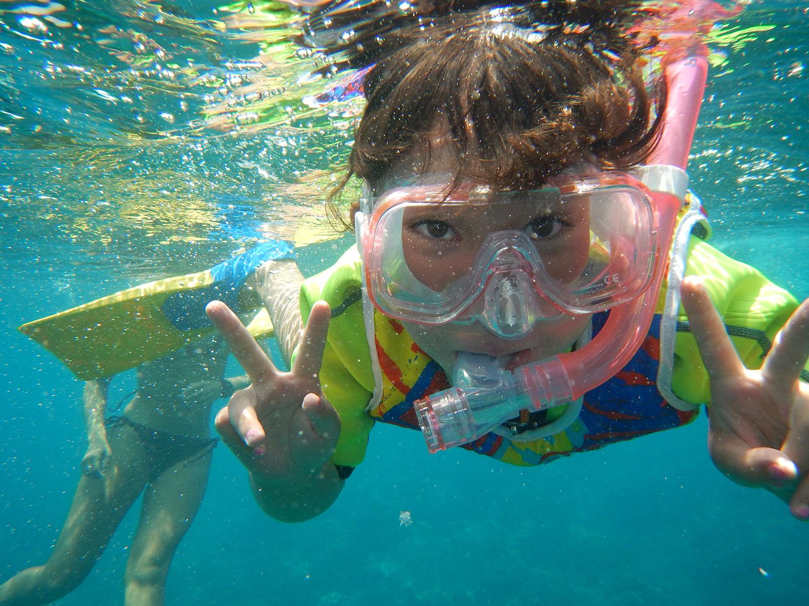 snorkeling-lembongan-kids